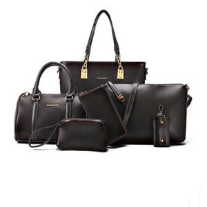 Famous Brands Elegant Big Bags Women′s Handbag 6 PCS/Set Women Bag Sy7816 pictures & photos