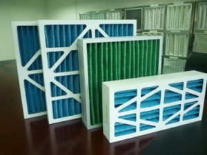 Machinery Cardboard Pleated Merv13 Primary Ventilation Filter pictures & photos