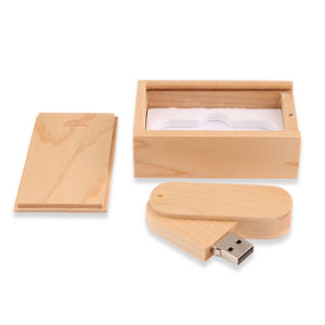 Twister Wood USB Flash Drive Laser Engraved Logo pictures & photos