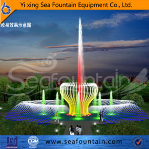 Professional Designer Design Multimedia Music Fountain with Outward Nozzle pictures & photos