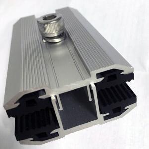 6063t5/EPDM Anodized Aluminum Solar Panel Middle/End Clamp pictures & photos