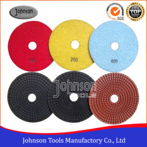 125mm Diamond Pad for Polishing Marble and Granite pictures & photos