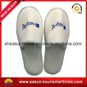 Quality Disposable Nonwoven Slippers for in-Flight pictures & photos