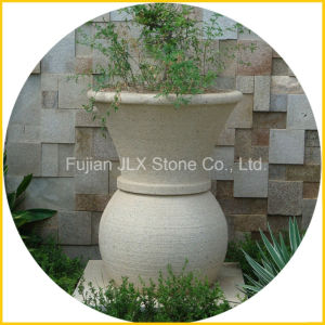 Garden Decoration Vase Stone Flower Pot pictures & photos