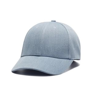 Custom Embroidery Cap Burshed Cotton Promotional Sports Embroidery Jeans Cap pictures & photos
