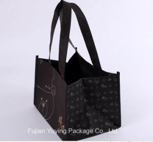 Brown Non Woven Shopping Bag, Tote Bag with Printing pictures & photos