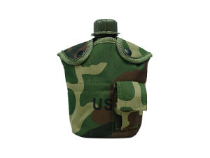 1qt Canteen Water Bottle W/Pouch & Cup pictures & photos