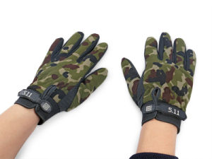 511 Black Full Finger Tactical Glove pictures & photos