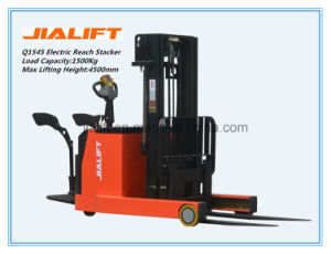 Electric Reach Stacker Q1545 pictures & photos