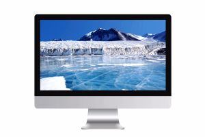 All in One Touchscreen PC White with Five Wire Resistive Touchscreen pictures & photos