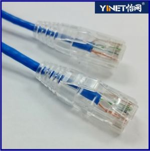 28AWG Gauge Flexible Stranded Copper Patch Cord Category6 Computer Cable CAT6 pictures & photos