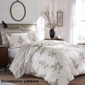 Nature Living Design Cotton Printed Duvet Cover Bed Linen pictures & photos