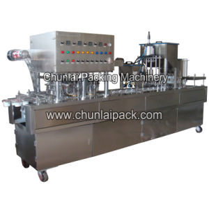 Chocolate Ball Cup Filling and Sealing Machine pictures & photos