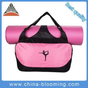 Custom Nylon Ladies Fitness Yoga Tote Sport Gym Bag pictures & photos