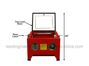 90L Benchtop Sandblast Cabinet Air Tool Gloves Sand Blaster pictures & photos