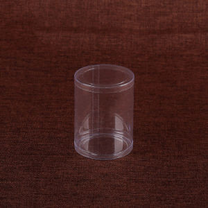 eco-friendly plastic packaging clear round gift/jewellery cylinder box(PVC box) pictures & photos