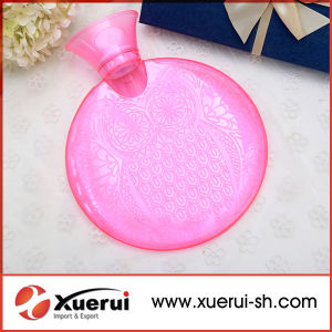 PVC Round Shape Hot Water Bottle with Good Quality pictures & photos