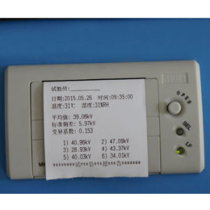 Hzjq-1b 80kv 100kv Breakdown Voltage Transformer Oil Dielectric Strength Testing pictures & photos