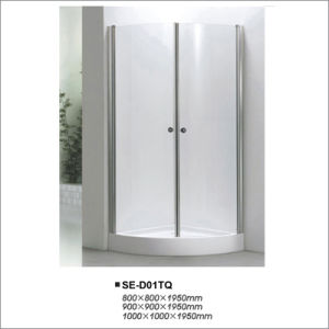 Simple Shower Room with Quadrant Tray pictures & photos