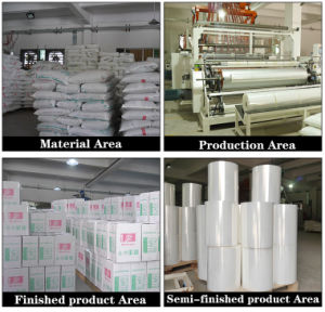Pallet Packaging Film Usage and PE Material Wrapping Stretch Film pictures & photos