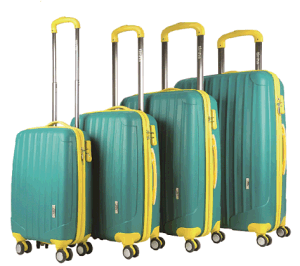 PP Material Zipper Style Hard Shell Trolley Case pictures & photos
