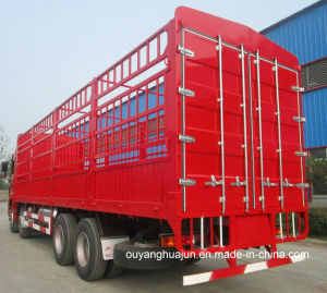 9.6 Meter Super Light Van Type Container Semitariler pictures & photos
