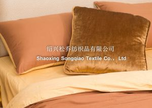 100% Cotton Plain Bed Sheet 2 pictures & photos