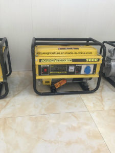High Quality 3kVA Gasoline Generator (UQ-3000) pictures & photos