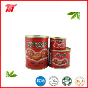 Star Brand 400g Healthy Canned Tomato Paste pictures & photos