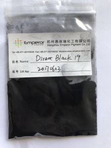 Direct Black 19 Direct Fast Black G Dyes pictures & photos