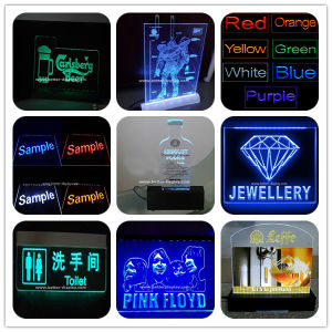 Custom Clear Acrylic Sign with Logo (BTR-I3005) pictures & photos