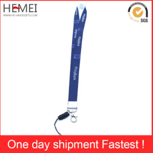 Silk Screen Printed Lanyard with Customized Logo pictures & photos