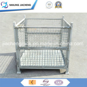 Wide Varieties Very Durable Q235 Steel Foldable Wire Mesh Container pictures & photos