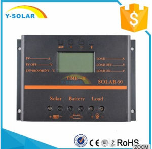 60A 12V/24V Solar Panel Charge Controller for Battery Charger Regulator with LCD S60 pictures & photos