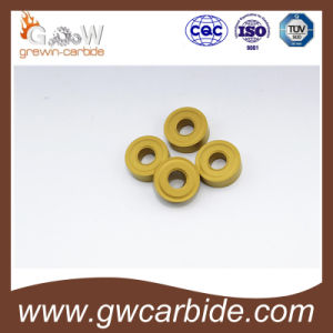 Carbide CNC Indexable Turning Milling Inserts pictures & photos