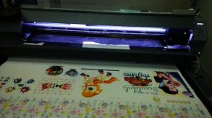 Long Belt Digital Printers for Cotton Fabrics Textile Direct Printing pictures & photos
