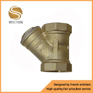 Thread Dn50 Dn40 Brass/ Bronze Y Valve Strainer pictures & photos