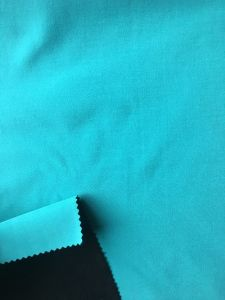 Laminated Polar Fleece Softshell Fabric 100% Polyester Stretch Fabric for Jackets pictures & photos