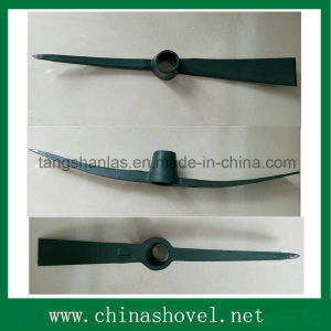 Hand Tool Hot Sale Rail Steel Pickaxe and Mattock P410 pictures & photos