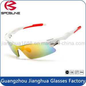 Factory Wholesale Polarized Anti Glare Cycling Glasses Prescription Bike Riders Sunglasses for Driving Volleyball Tennis pictures & photos