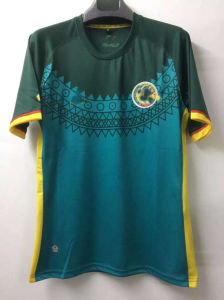2017 Senegal Green Football Tshirt pictures & photos