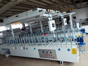 House or Indoor Decorativetuv Certificated Cold Glue Woodworking Coating Machine pictures & photos