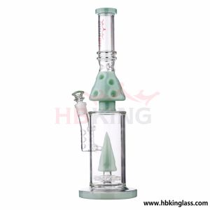 14 Inch Pineapple Colorful Perc Glass Water Pipe pictures & photos
