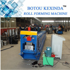 Metal Sheet Rain Gutter Forming Machinery pictures & photos