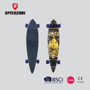 "Speedzone Pintail Longboard 40"" Cruiser Board pictures & photos"