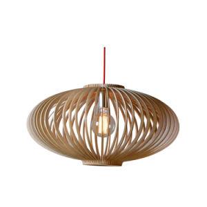 Creative Home Decor Lantern Shaped Wood Candle Pendant Lamp Oz-Al662 pictures & photos