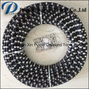 Rubber Spring Plastic Injection Diamond Cutting Wire Saw Rope for Stone Concret Cutting pictures & photos
