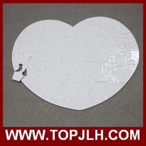 Round / Rectangle/ Heart Customized Sublimation Paper Puzzle pictures & photos