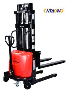 Electric Pallet Forklift Truck Manufacturer pictures & photos