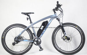 36V / 10.4ah Lithium Battery 250W Al Alloy Electric Bicycle (BN2701) pictures & photos